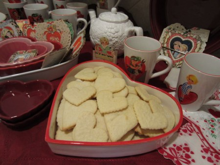 cookies ready for tea